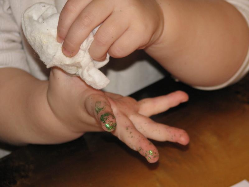 brokatowe palce
