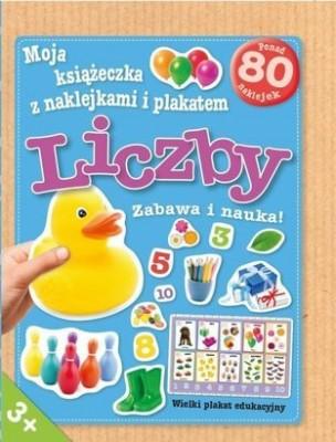 Moja książeczka z naklejkami i plakatem. Liczby