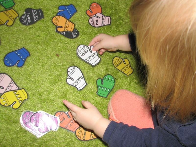 rękawiczki kolorowe