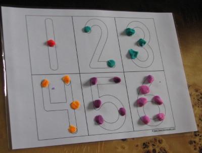 liczby - ciastomata