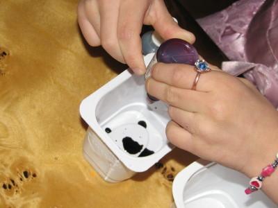 przygotowanie barwnika