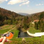Zapora jezioro Czerniańskie