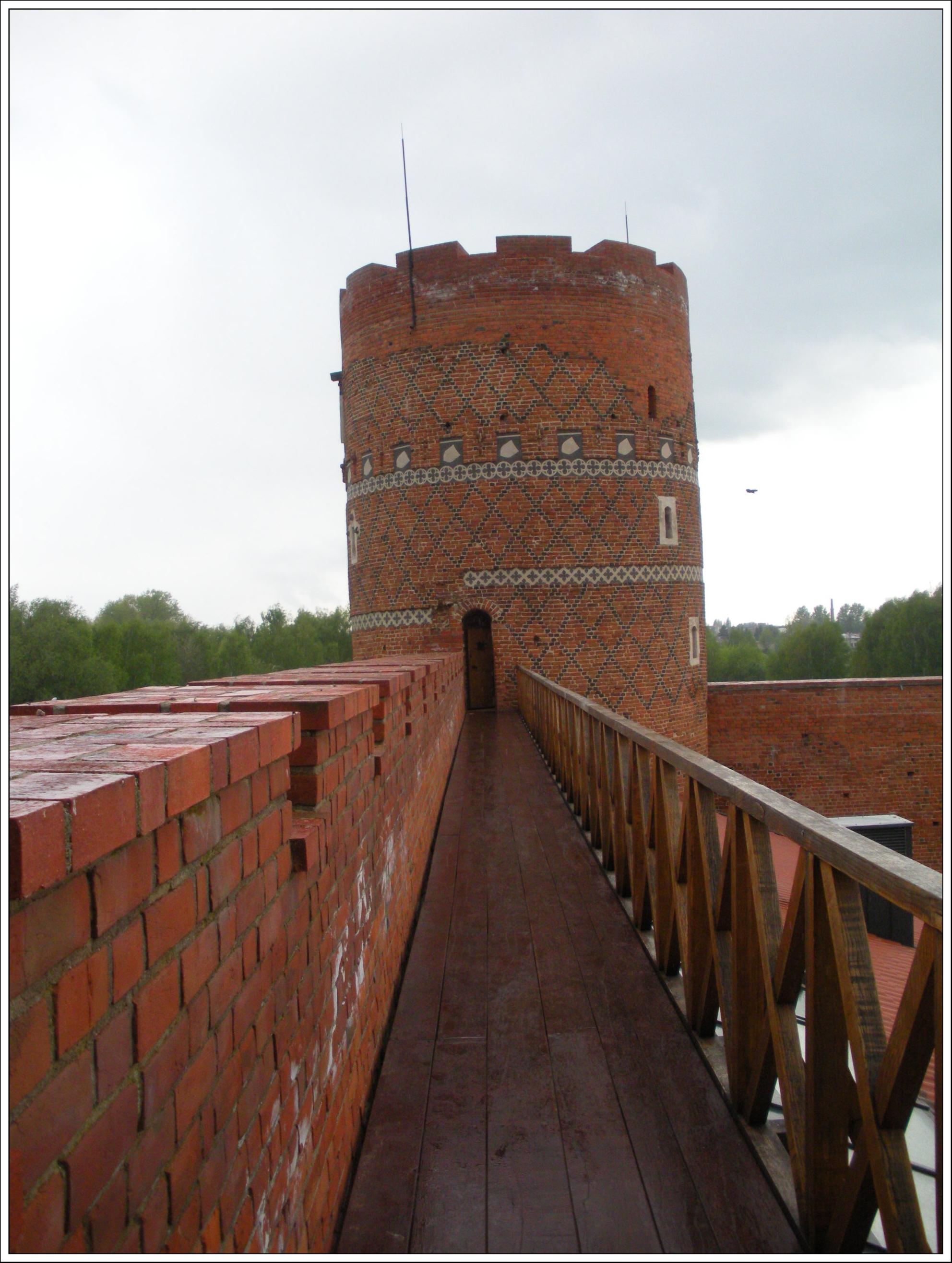 Zamek w Ciechanowie - baszta