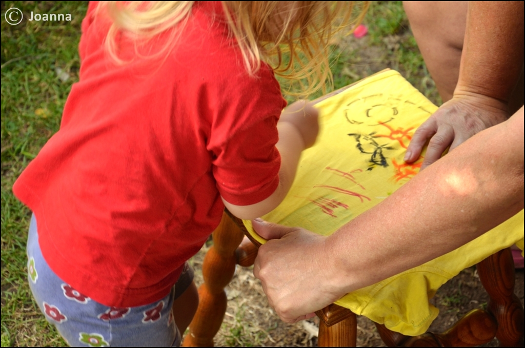 malowanie na koszulce