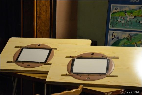 stoły do animacji