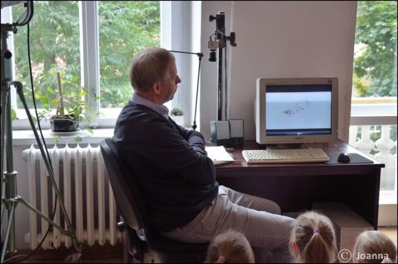 animacja na komputerze