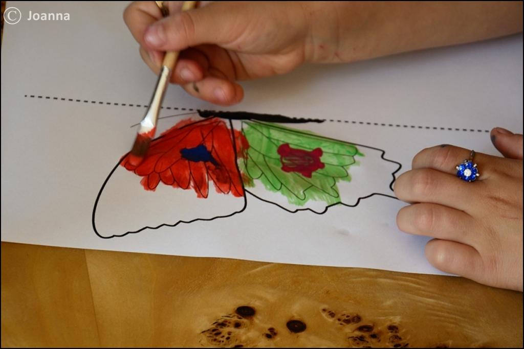 malowanie motyli