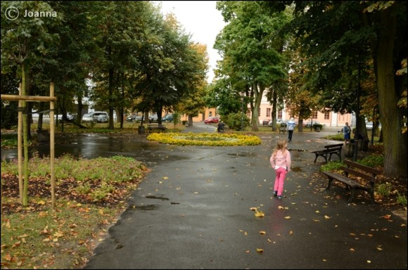 Skwer na placu Kilińskiego - Mińsk Mazowiecki
