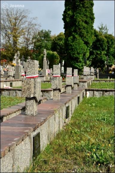 kwatera wojskowa na cmentarzu - Mińska Mazowiecki