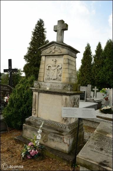 grób Bartłomieja hr. Lanckorońskiego - Mińsk Mazowiecki
