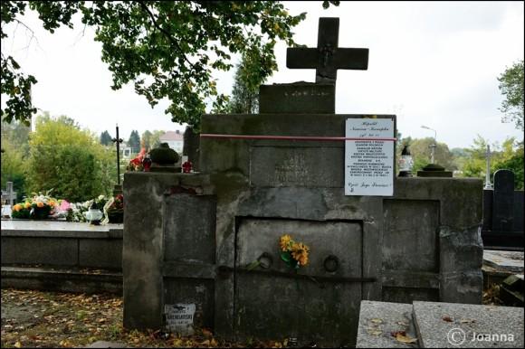 grób Hipolita Nowiny-Konopki - Mińsk Mazowiecki