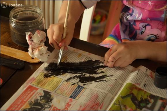 malowanie patyczków