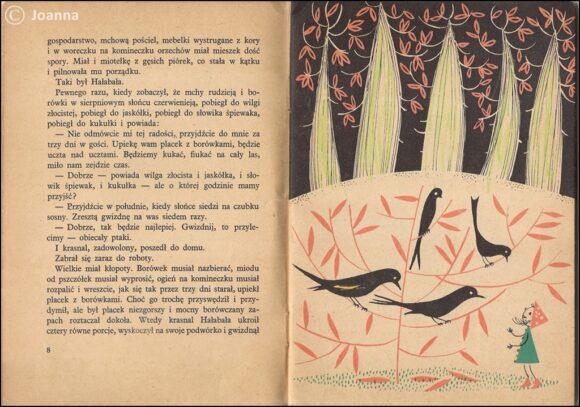 Z przygód krasnala Hałabały - o ptakach
