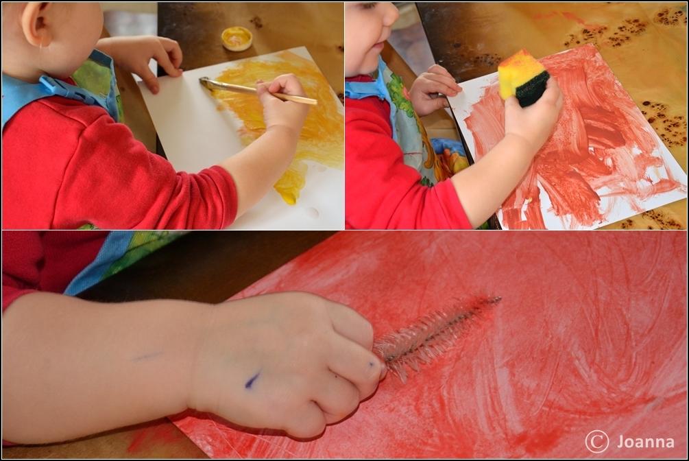 malowanie papieru
