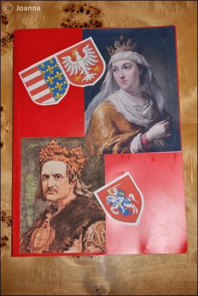Królowa Jadwiga - lapbook