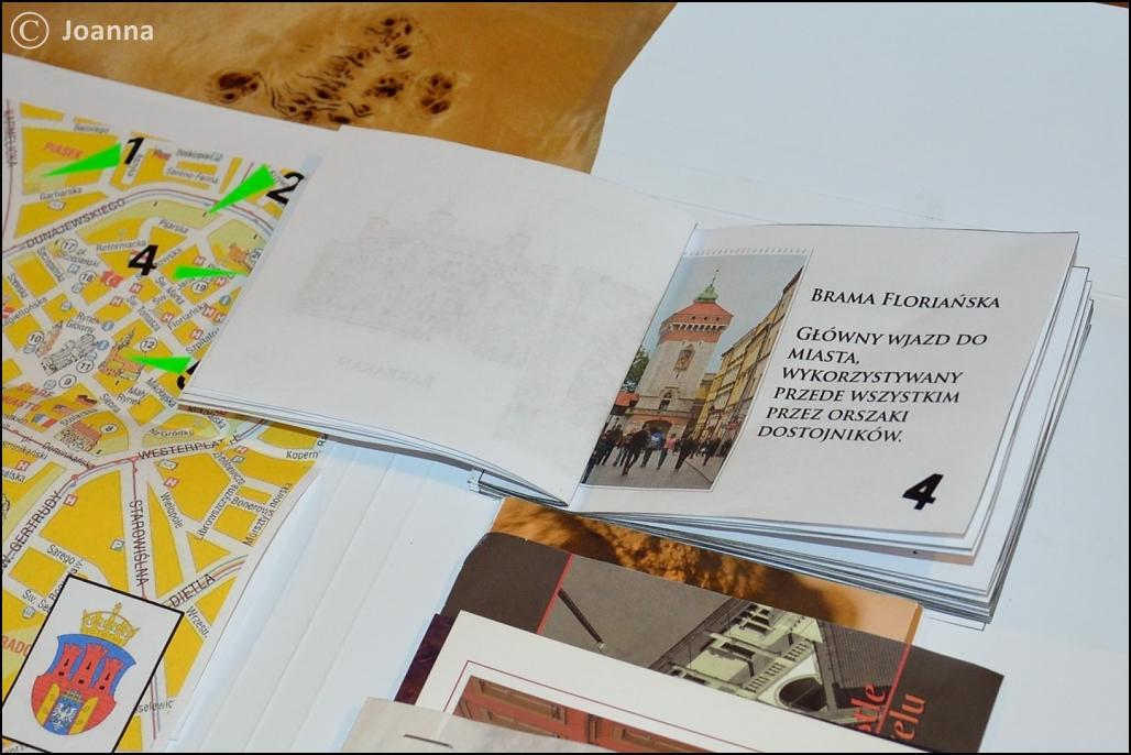 Folder z wycieczki