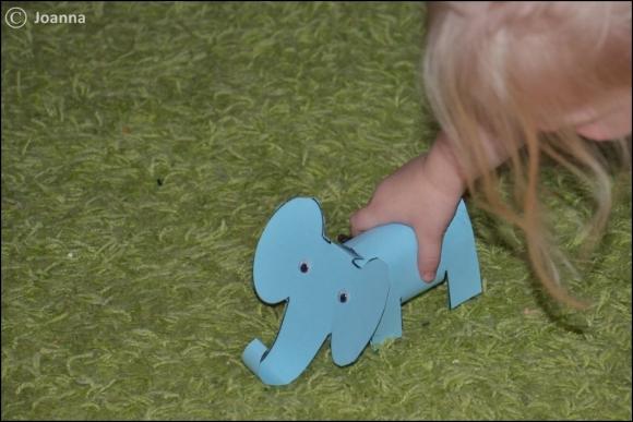 papierowy słoń