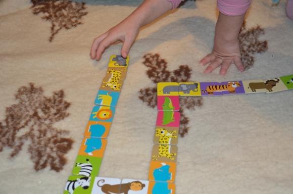 "domino obrazkowe ""Safari"" - CzuCzu"