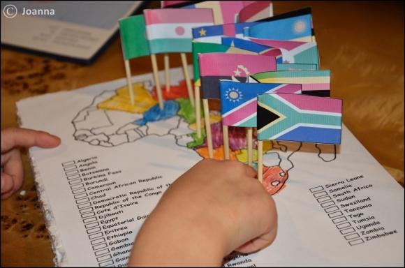 Afryka - flagi