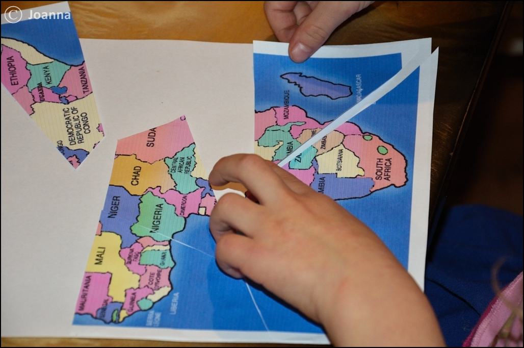 Afryka - układanka
