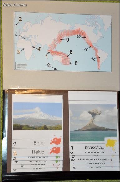 lapbook - wulkany
