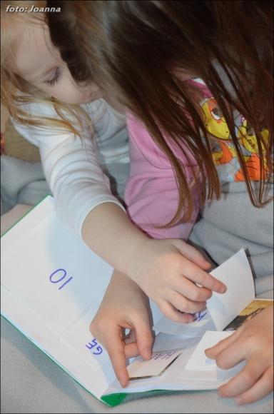 książka do czytania metodą sylabową.