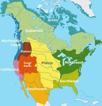 Ameryka Północna - regiony