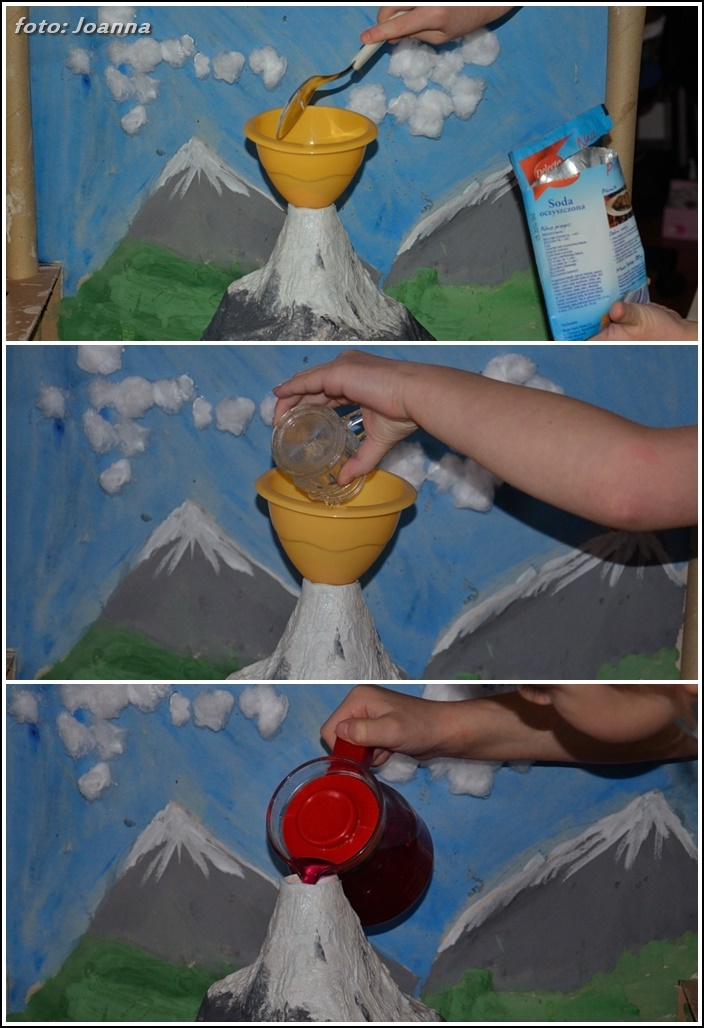 "składniki ""erupcji wulkanu"""