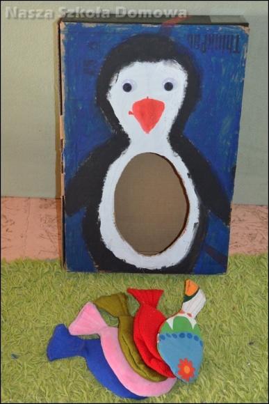 ryby i pingwin - gra zręcznosciowa