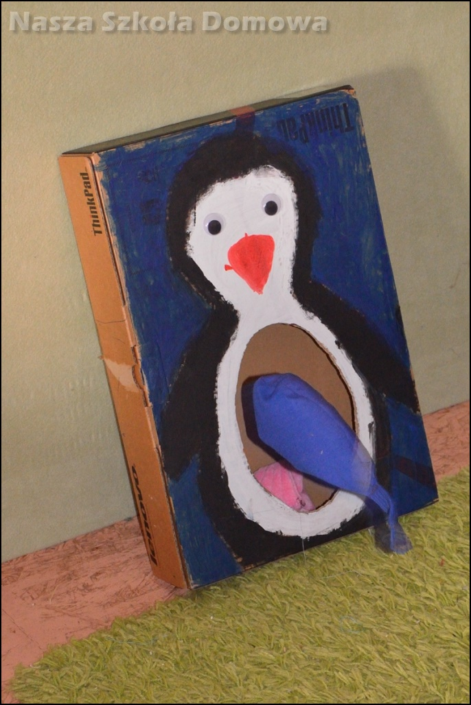 ryby i pingwin - gra zręcznościowa