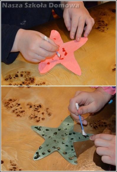 papierowe rozgwiazdy