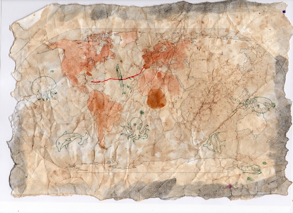 mapa Kolumba