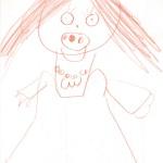 Dziecko ze smokiem