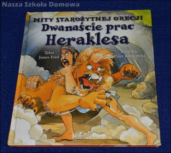 Dwanaście prac Heraklesa - książka