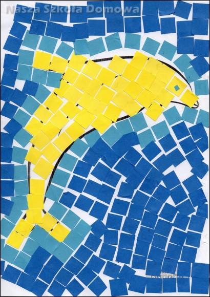 Mozaika - delfin