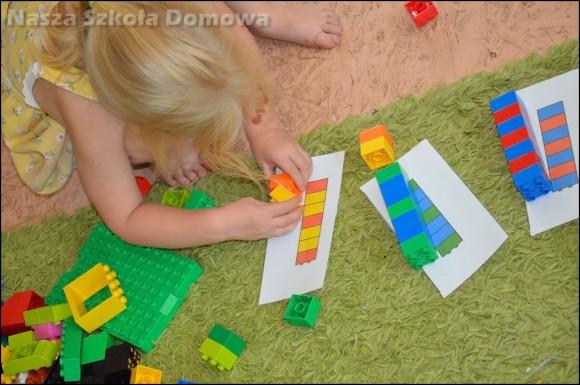 sekwencje z klocków LEGO
