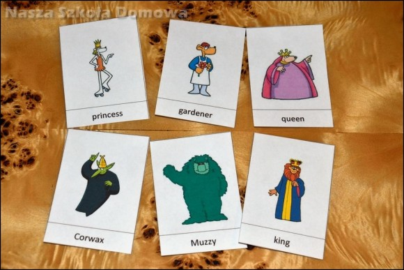 Muzzy - karty pracy