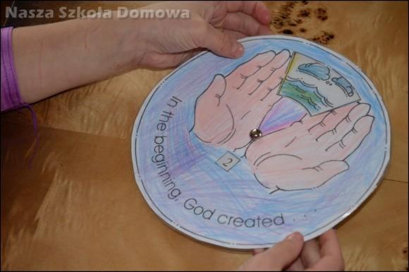 stworzenie świata - koło