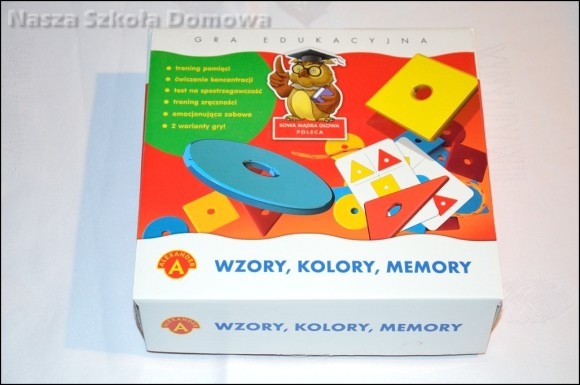 Wzory, kolory, memory - Aleksander