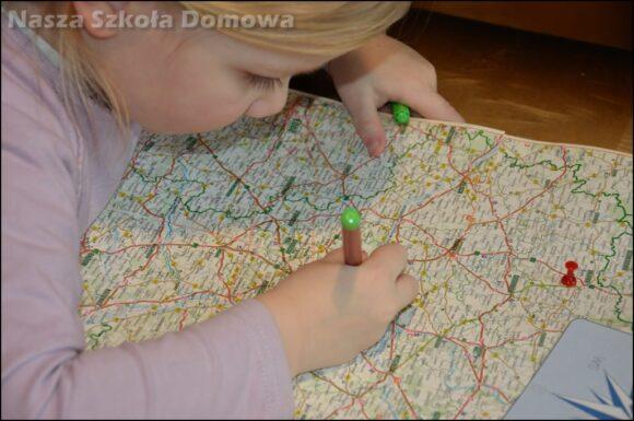 Wyznaczanie trasy na mapie drogowej