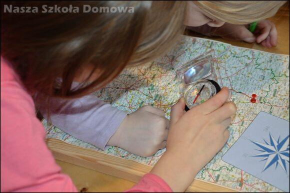Kierunki na mapie drogowej