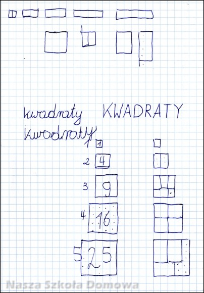 kwadraty i prostokaty