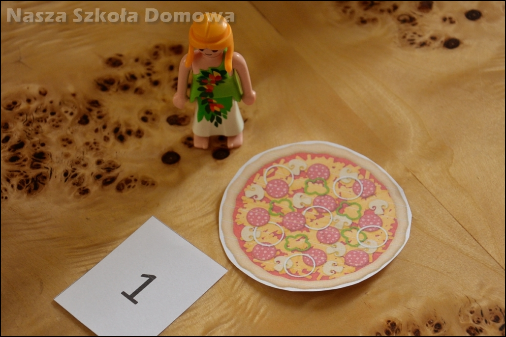 pizza - ułamki