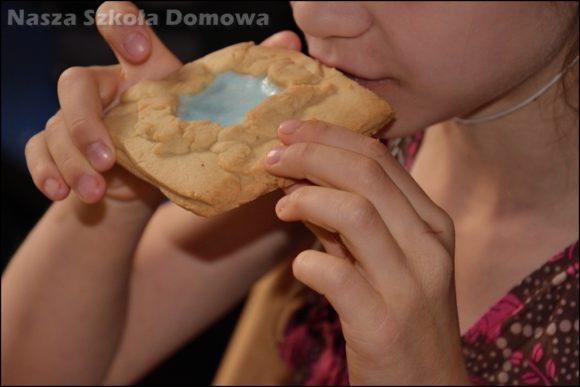 krucze ciastka - jezioro