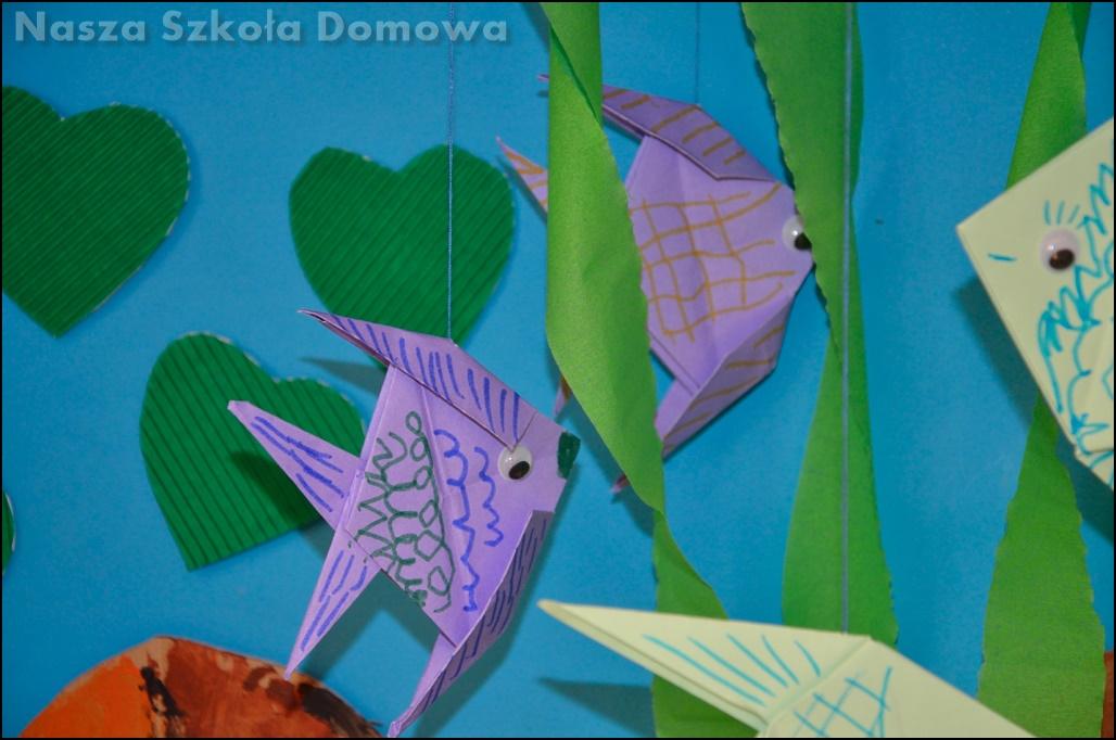 rybki origami