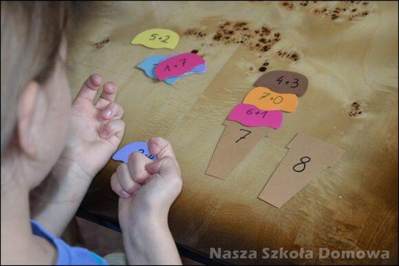 Lody - dopasowanka rozkład liczby na czynniki