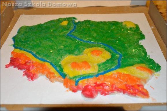 Polska - mapa 3D