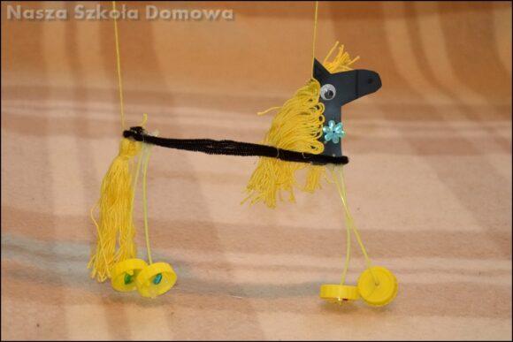 konik marionetka - DIY