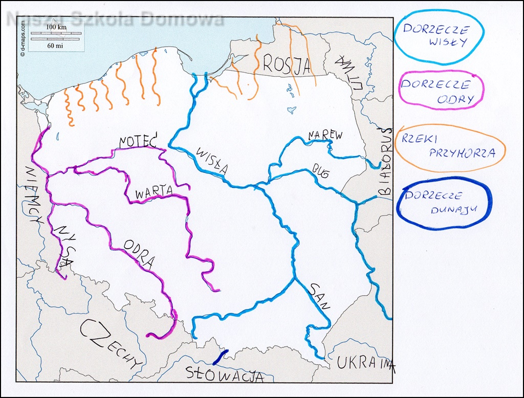 Nasza Polska Geografia Nasza Szkola Domowa