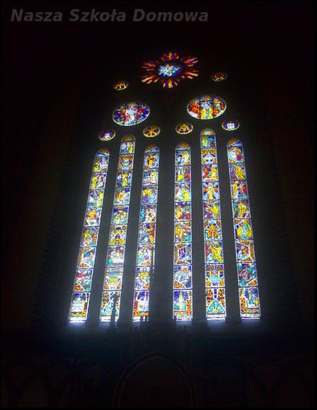 Katedra - witraż